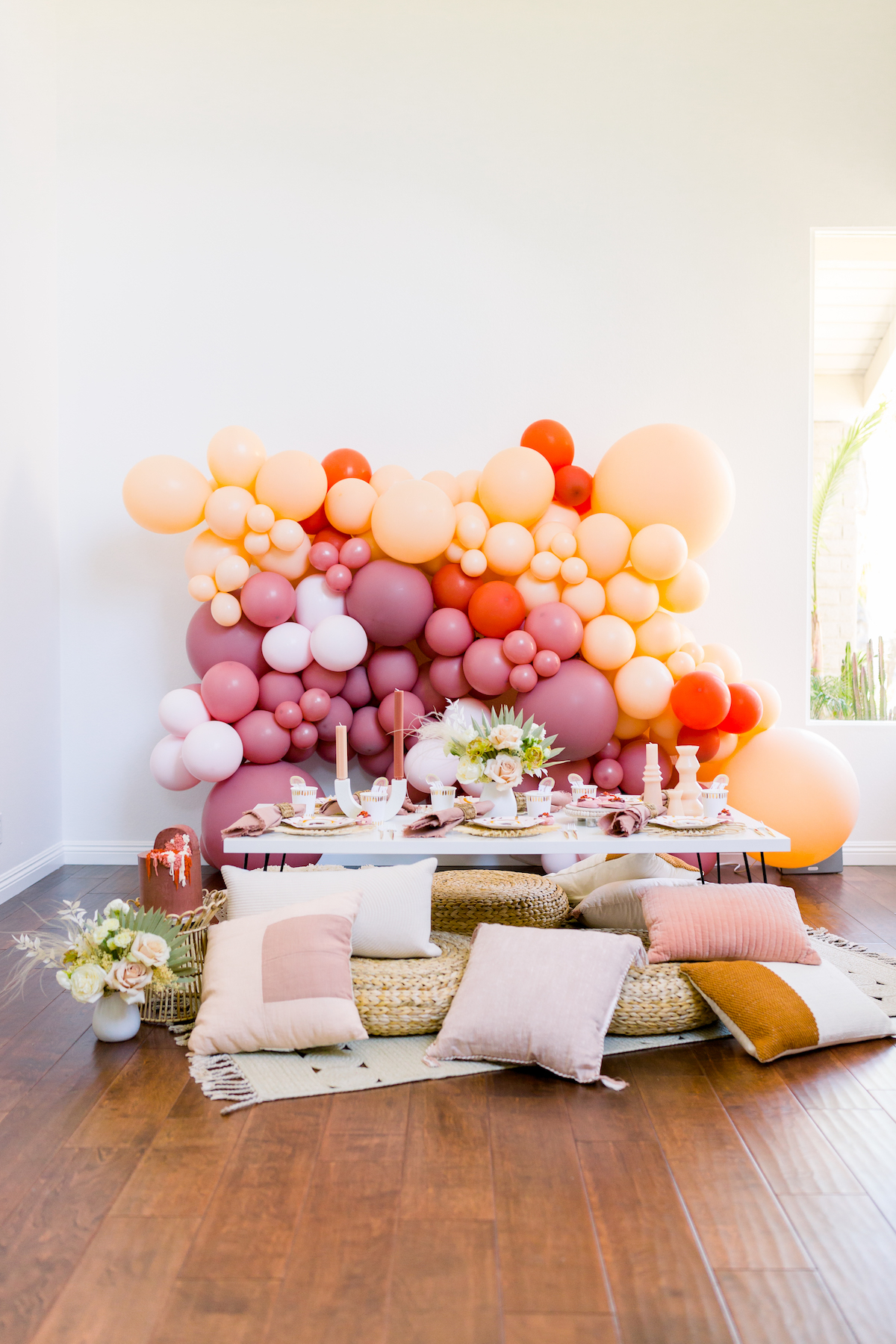 Golden Arrow Events & Design - Chasing Rainbows Birthday